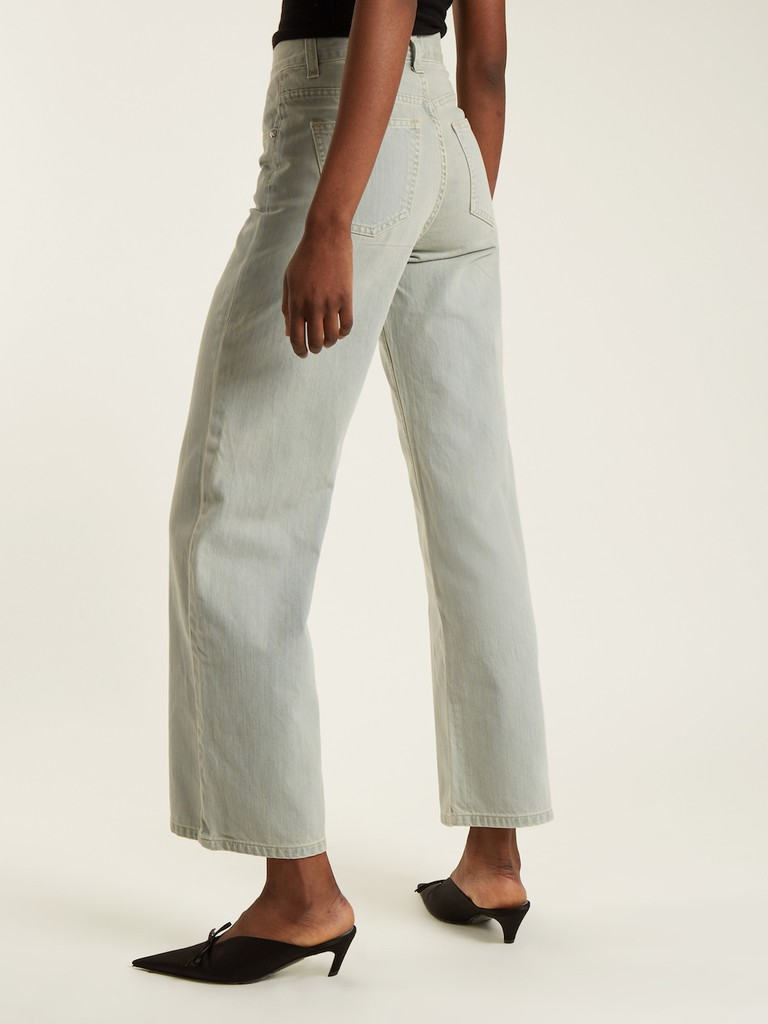 http://www.matchesfashion.com/products/Eve-Denim-Charlotte-high-rise-wide-leg-jeans-1155320