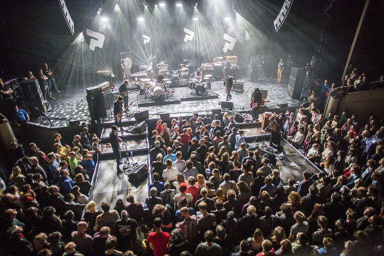 Savages and Bo Ningen performing at LeGuessWho? 2014
