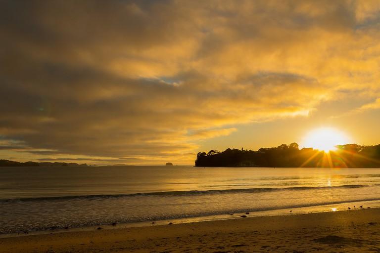 Sunrise over Whitianga, New Zealand