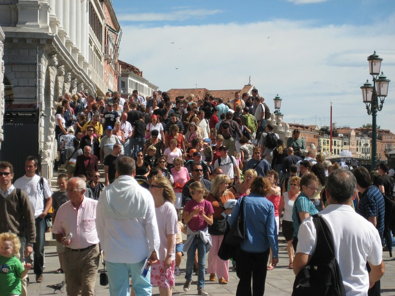 Venice's crowds