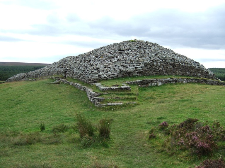 Camster Cairns, more than 5000 years old (and you can crawl inside!)