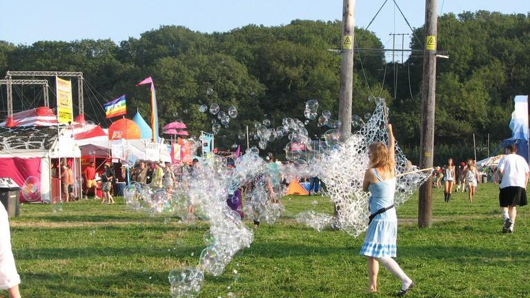 Bestival bubbles