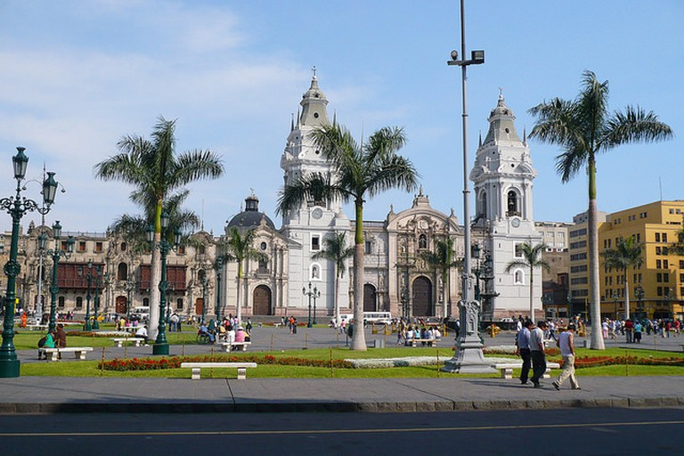Plaza de Armas in the historical center