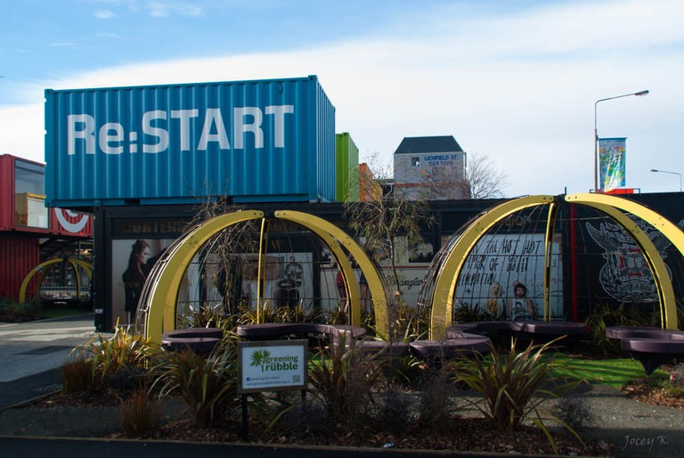 The Re:Start Mall in Christchurch