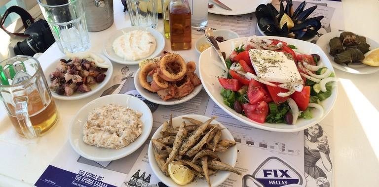 Greek deliciousness | © Ania Mendrek/Flickr
