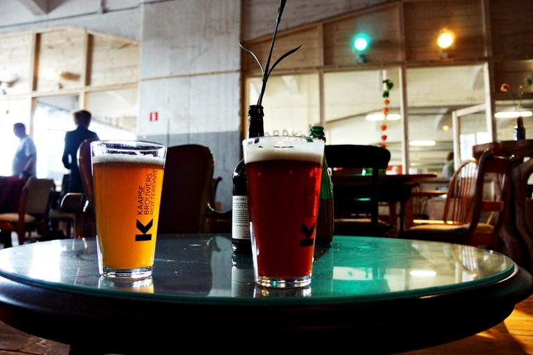 Kaapse beer inside Fenix Food Factory