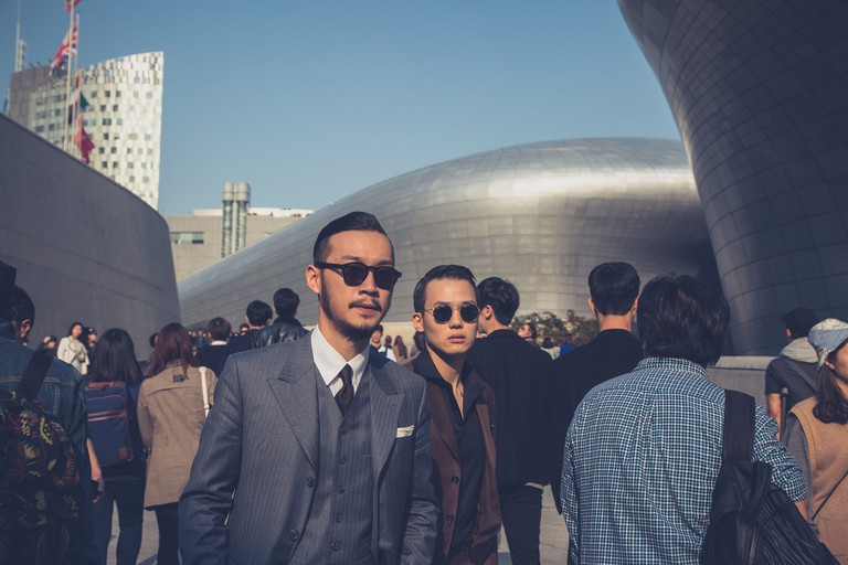 Seoul Fashion Week at Dongdaemun Design Plaza