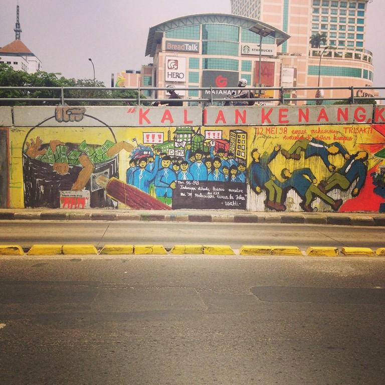 Street art in Jakarta