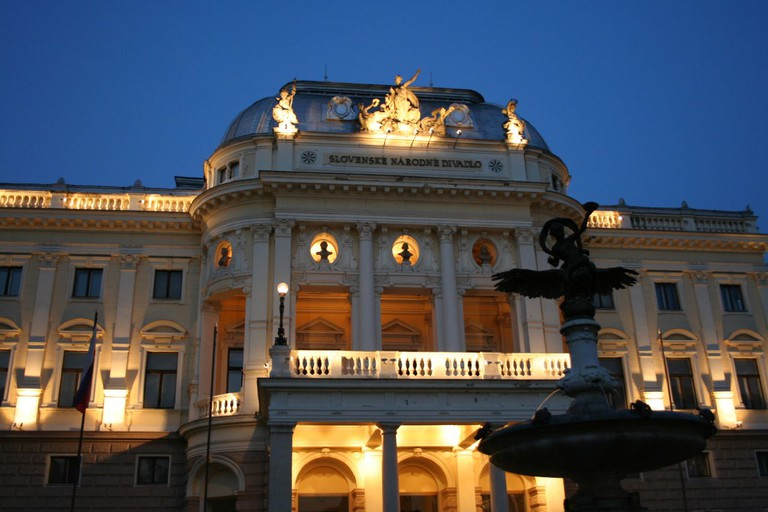 The Neo-Renaissance Old Building of the Slovak National Theatre I