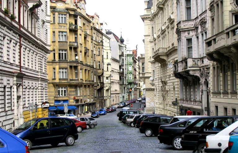 Parking in Prague can be tough