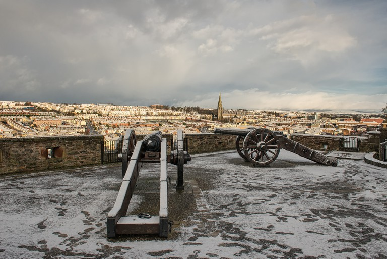 A view of Derry from the walls