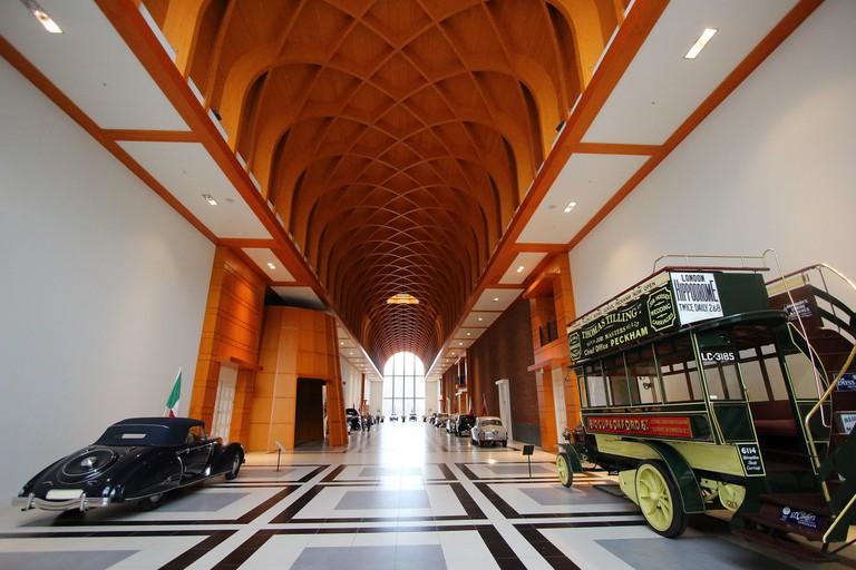 Inside the Louwman Museum