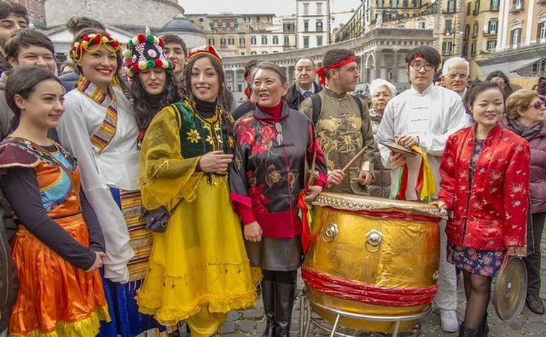 Chinese New Year celebrations in Napoli