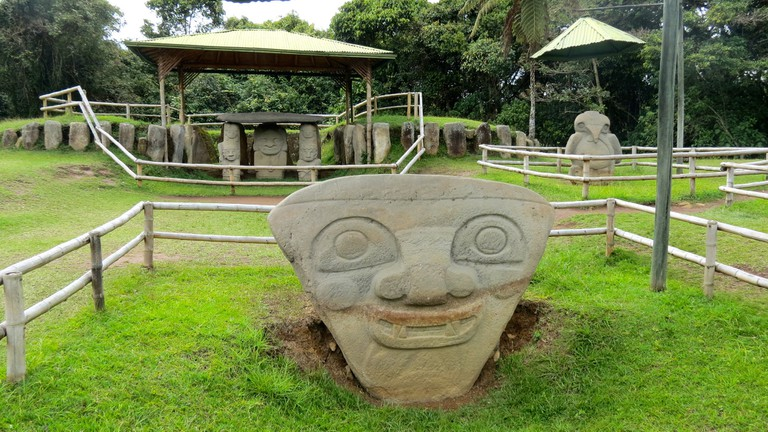 Visit the ancient wonders of San Agustin, but leave the treasures in the ground