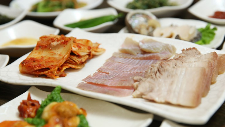 Skate and pork with kimchi | © Republic of Korea/Flickr
