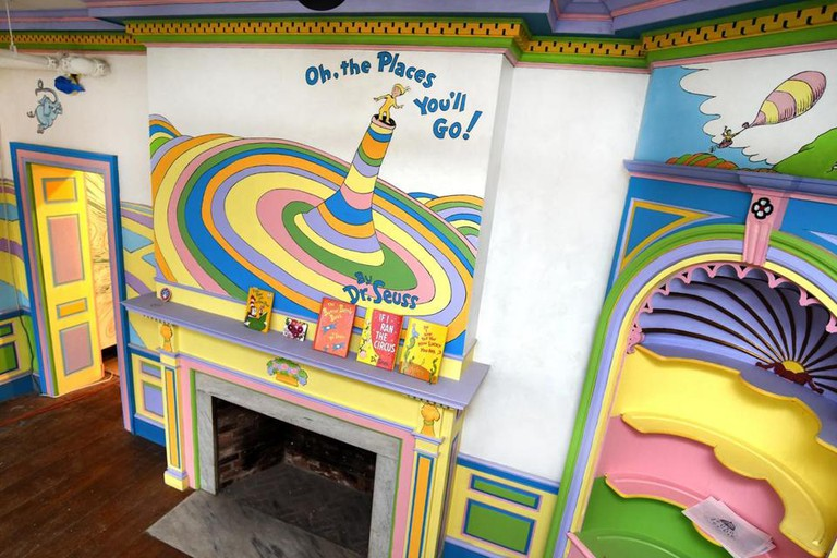 Seuss Mural | Courtesy of Springfield Museums