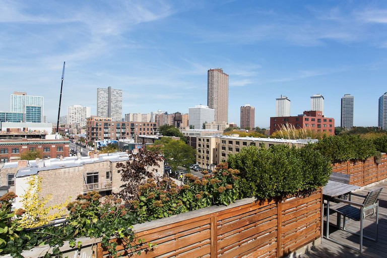 View from the rooftop deck | © Courtesy of David/Airbnb
