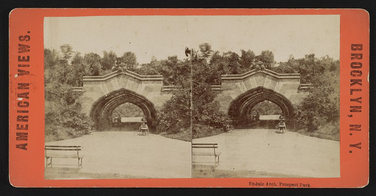 Endale Arch, Prospect Park | Courtesy of Library of Congress, #2017649009
