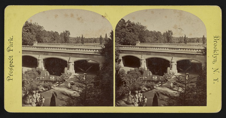 Nethermead Arches. Prospect Park. Brooklyn, N.Y | Courtesy of Library of Congress, #2017649019