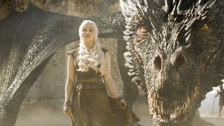 Emilia Clarke as Daenerys | © 2016 HBO