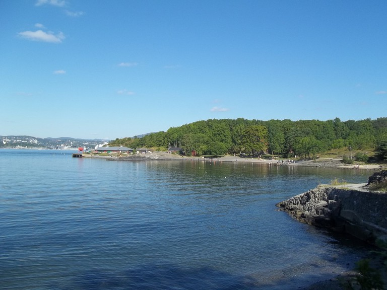 View from the island of Hovedøya
