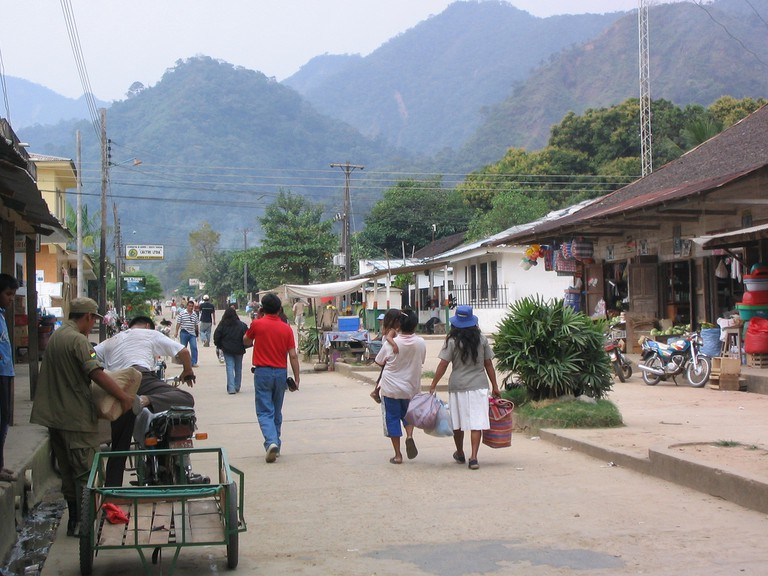 Main street, Rurrenabaque, Bolivia