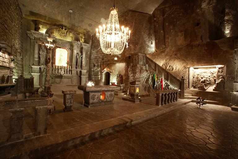 The salt mine at Wieliczka I