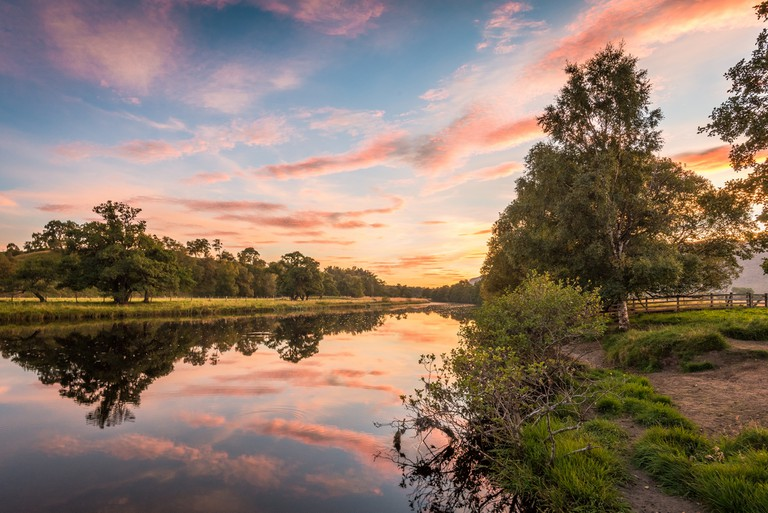 River Spey at Sunset