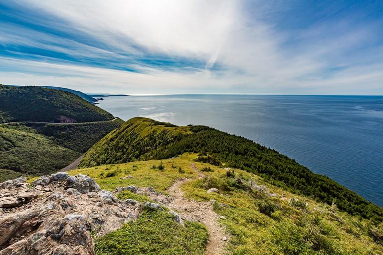 Skyline Trail on Cape Breton Island