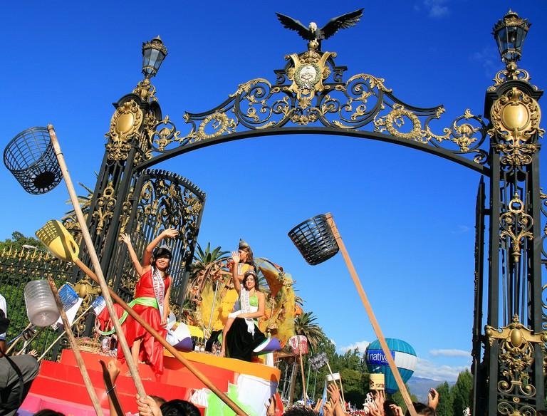 Mendoza parade