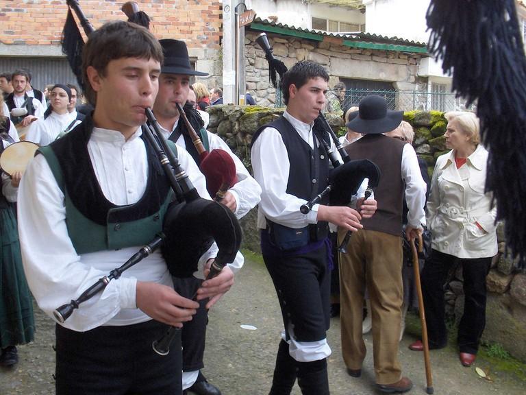 Galician bagpipes | ©Dario Alvarez / Flickr
