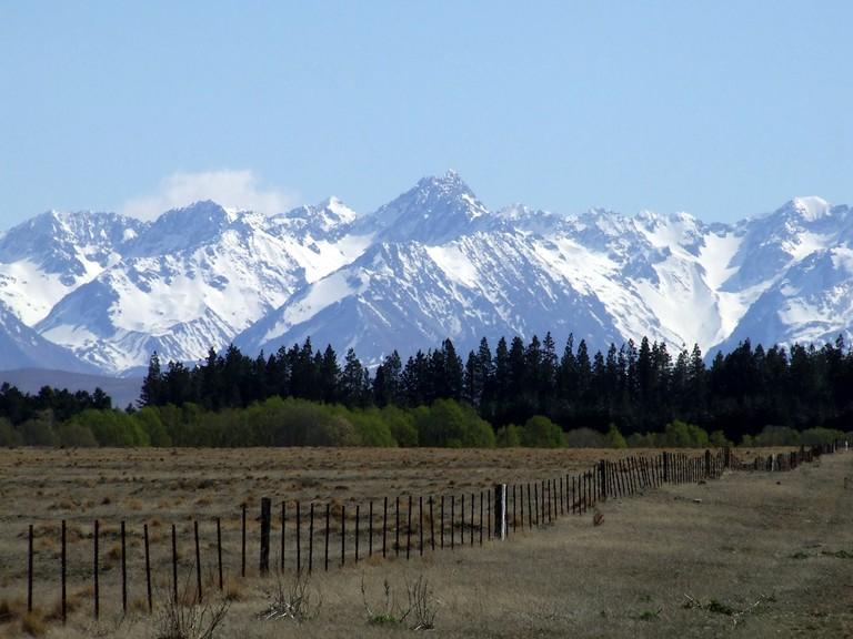 Fairlie, New Zealand Landscape