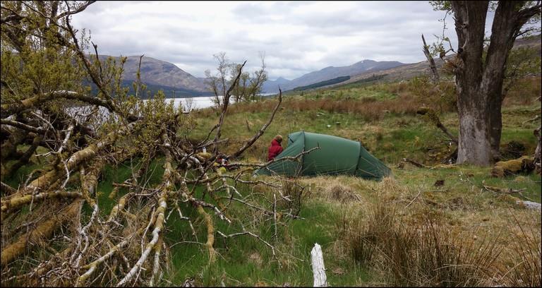Loch Arkaig Camp