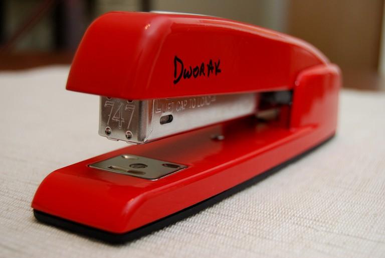 A modern stapler © Eric E Castro