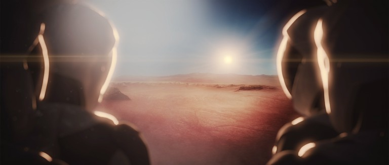 Would you travel to Mars?   © SpaceX