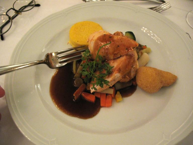 Meal at St Peter's Stiftskeller