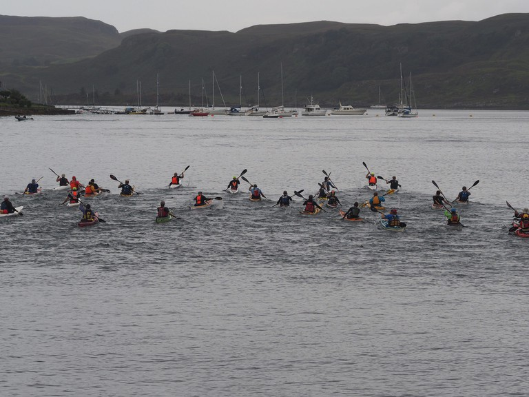 Kayak Race, Oban