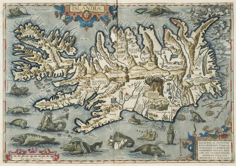 Detailed Antiquated Map of Iceland | © Special Collections Toronto/Flickr