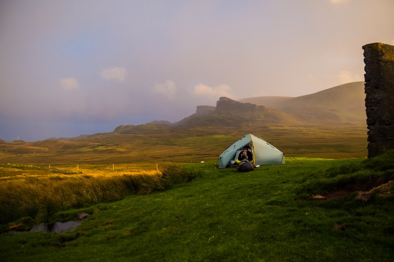 Skye Wild Camp