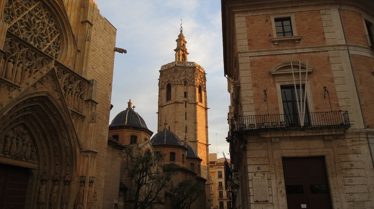 Valencia Cathedral and its bell tower
