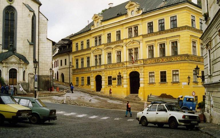 Beautiful Banska Stiavnica