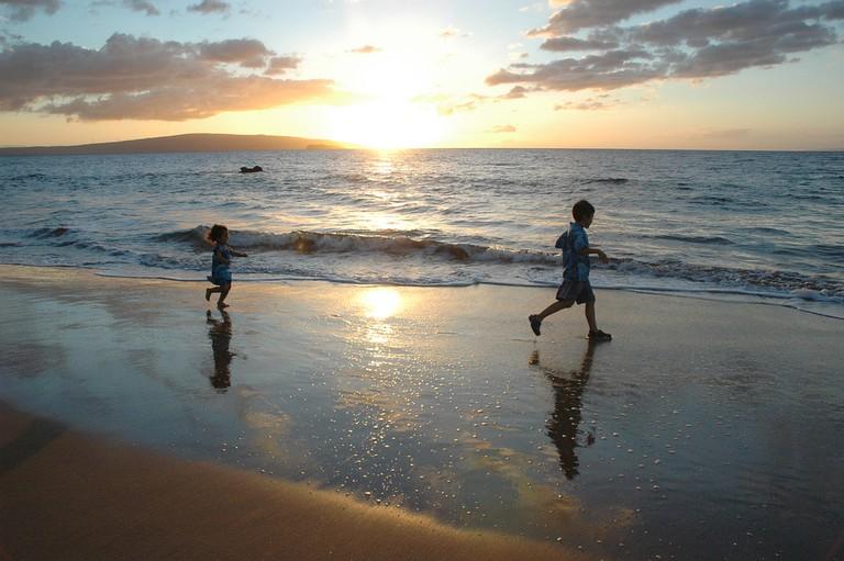 Kids love a trip to the beach