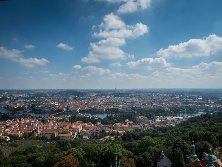 View from Petřín Tower