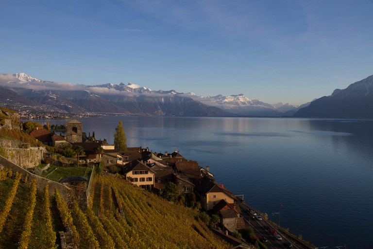 The views from the vineyards of Lavaux are best enjoyed with a glass in hand