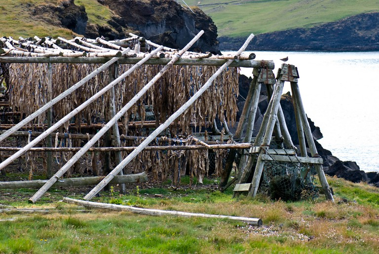 cod drying rack | © Thomas Quine/Flickr