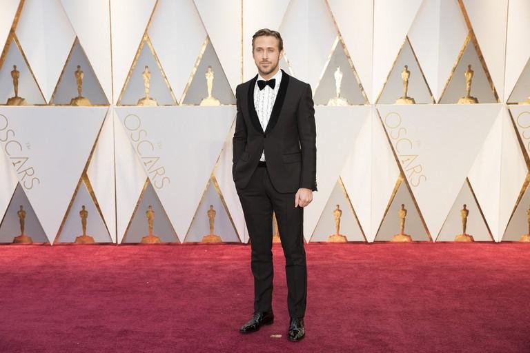Ryan Gosling at the 2017 Oscars
