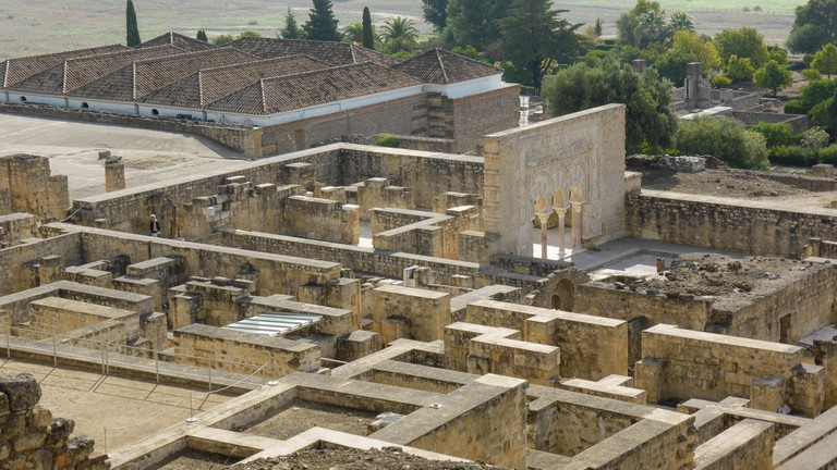 The Medina Azahara was once the most important city in Andalusia I