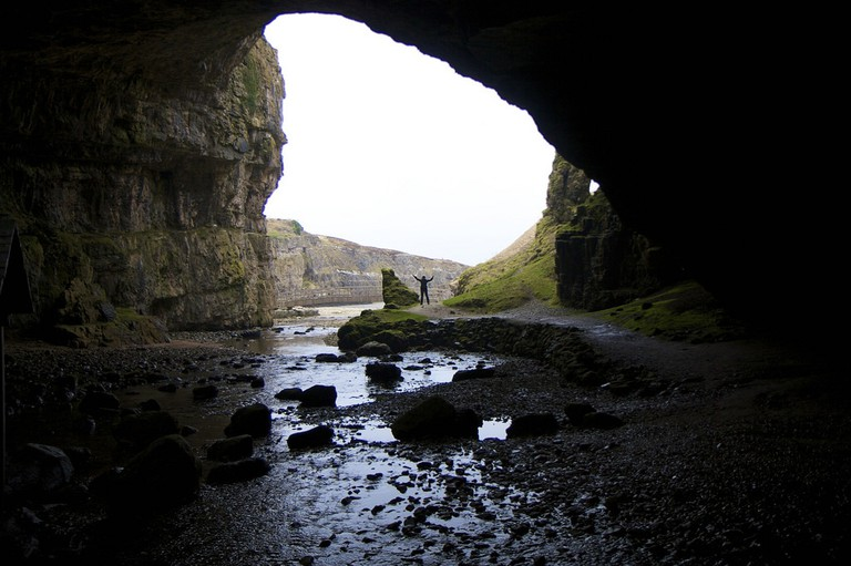 Smoo Cave, Durness, on the North Coast 500 route