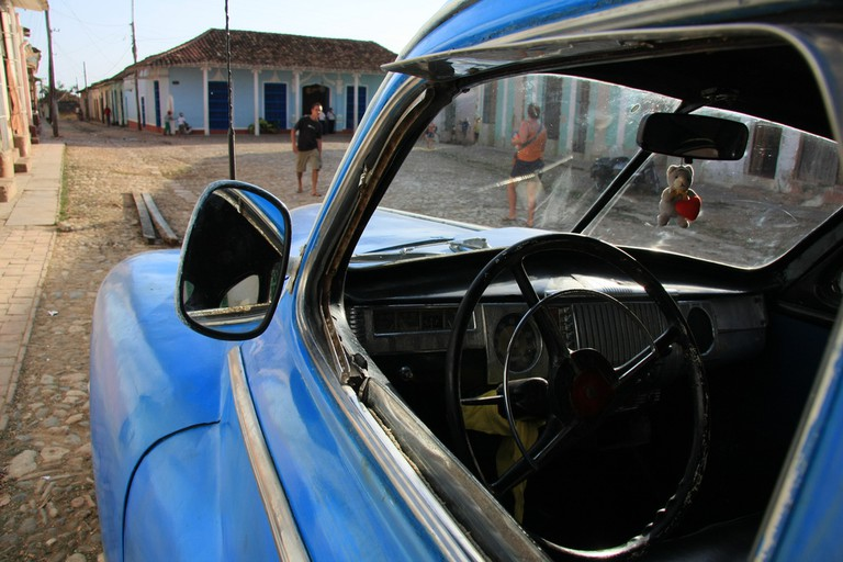 American cars from the 1950s still circulate in Cuba