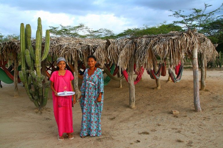 Saavedra has captured many images of the indigenous Wayuu people